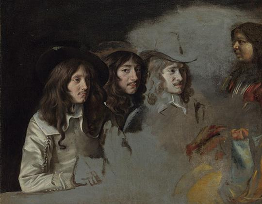 Le Nain Three Men and a Boy c. 1640–45 Oil on canvas National Gallery, London